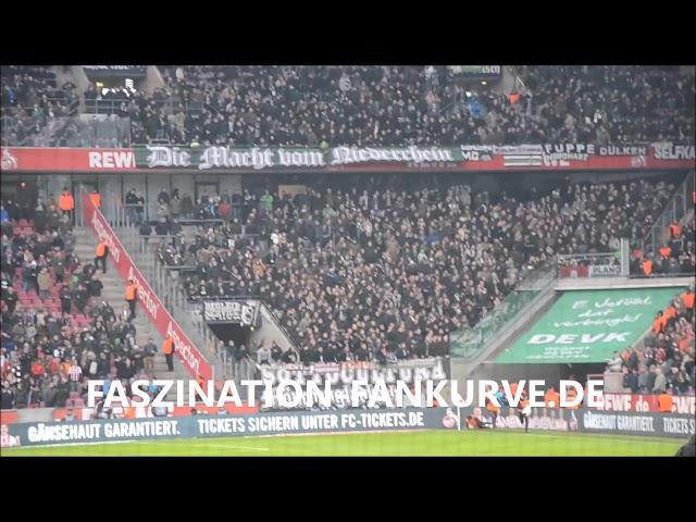 Kölner Ultras klauten in Halbzeitpause die Zaunfahne vom Scenario Fanatico