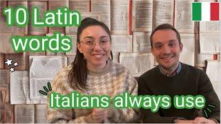 10 Latin words Italians always use (subtitled)