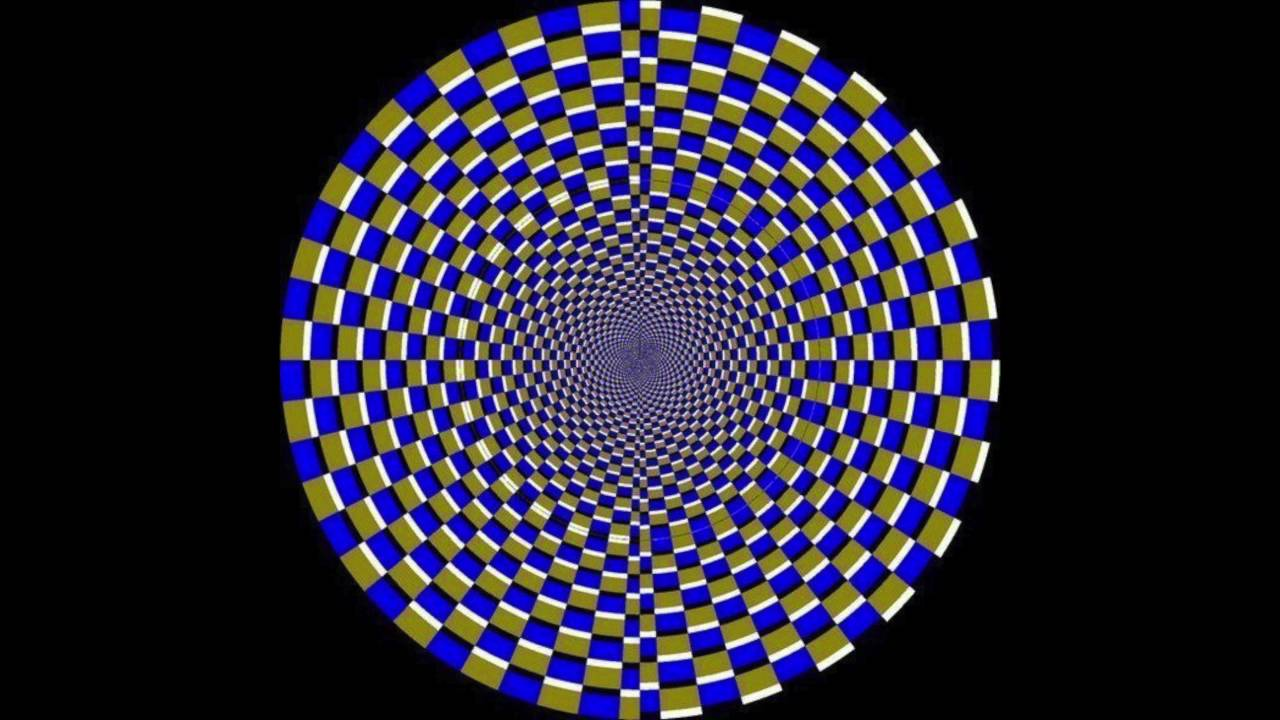 optical illusions illusion squares moving circle fractal yet op visual onda anomala brain ratings