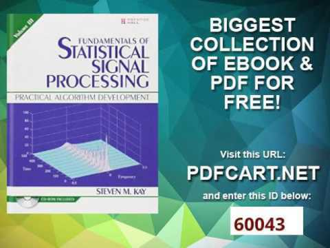fundamentals of signal processing in