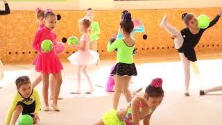 Гимнастика, показательные выступления детей первого года обучения (Кокшетау 2018)