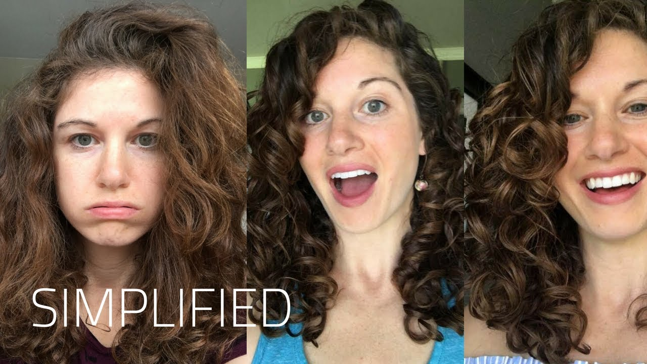 Easy Curly Girl Method For Beginners Youtube