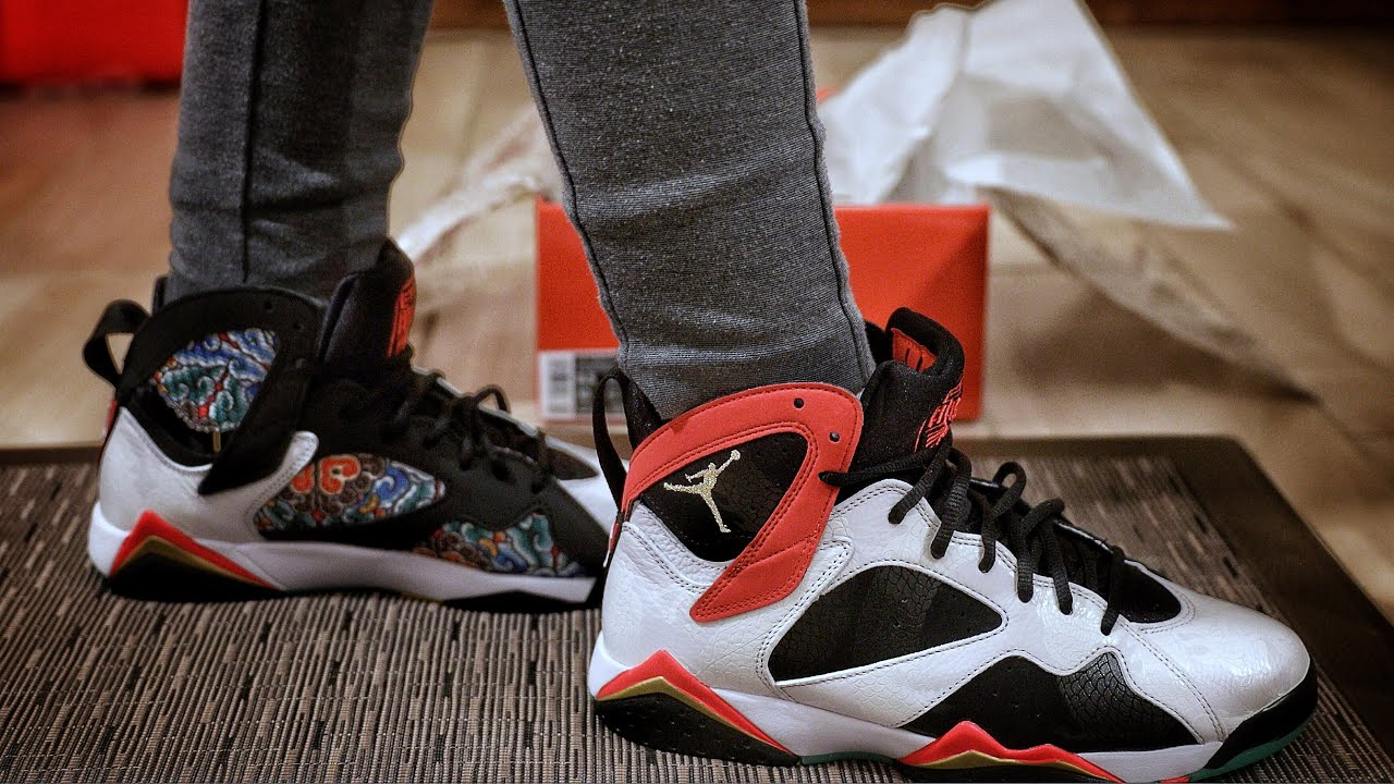 Nike Air Jordan 7 Retro Greater China Unboxing and On-Foot Review