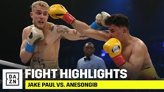 HIGHLIGHTS | Jake Paul vs. AnEsonGib