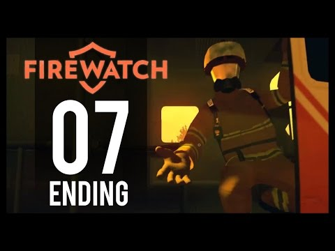 Firewatch Gameplay - Part 7 -  Ending (PC Let's Play)