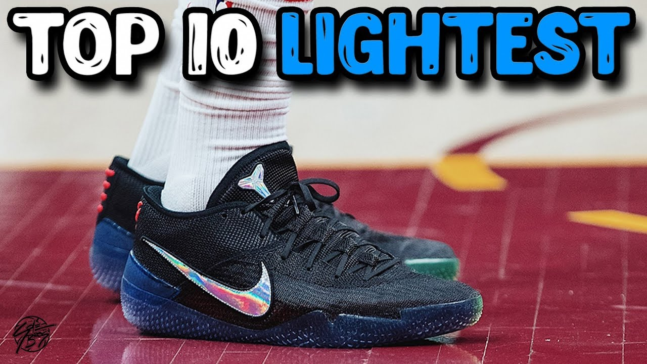 10 Lightest Basketball Shoes by Weight