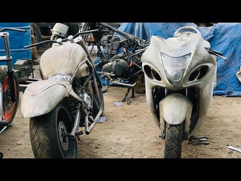 Bajaj Avenger modified