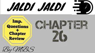 Jaldi jaldi guyton chapter 26