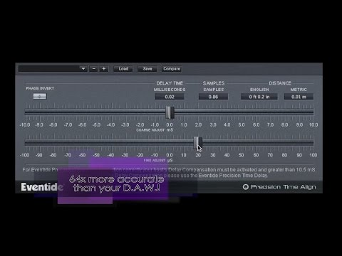How to Fix Audio Phasing - Eventide Precision Time Align Overview