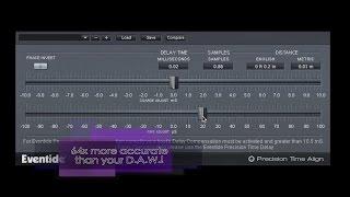 Precision Time Align | Eventide sub-sample delay plugin