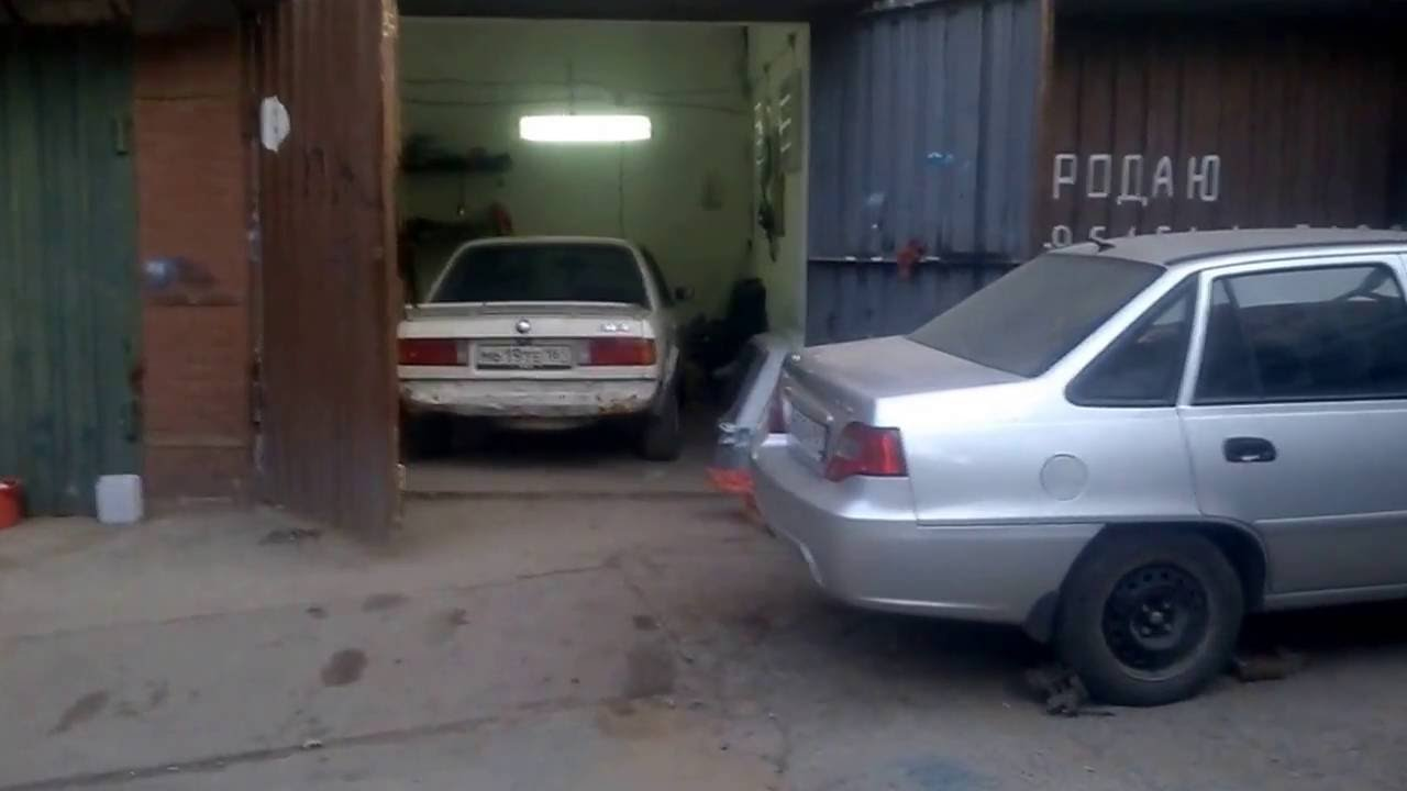 BMW E30 M20B20 прогрев двс. после замены вискомуфты