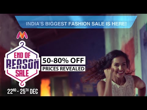 Myntra End Of Reason Sale - All Sale Prices Revealed from YouTube · Duration:  11 seconds