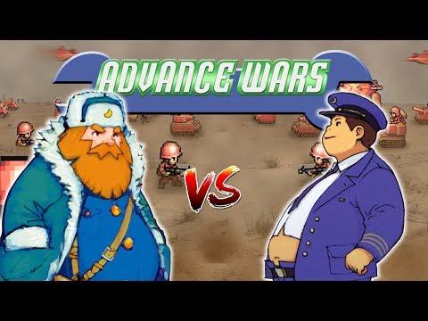 Advance Wars 2 PvP: Olaf vs Drake - Four Corners