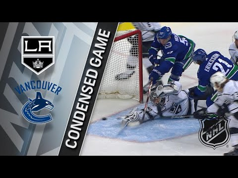 01/23/18 Condensed Game: Kings @ Canucks