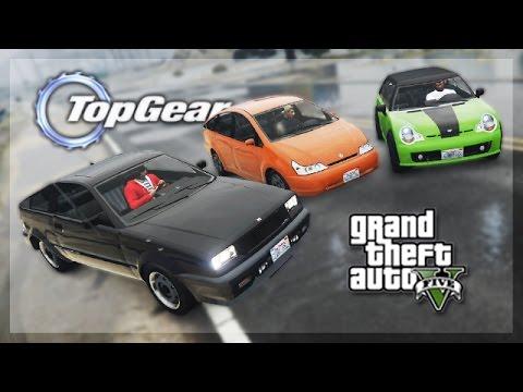 GTA 5 Online - (Top Gear Edition) Worst Car Challenge!