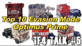 Top 10 Evasion Mode Optimus Prime - [TF4 Talk #5]
