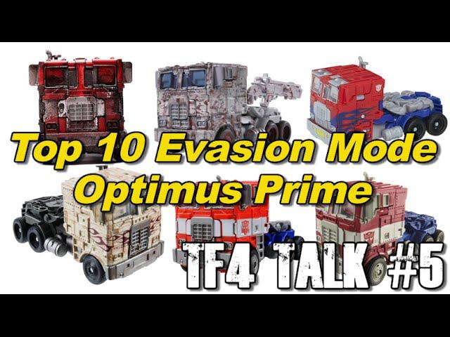 Top 10 Evasion Mode Optimus Prime - [TF4 Talk #5]