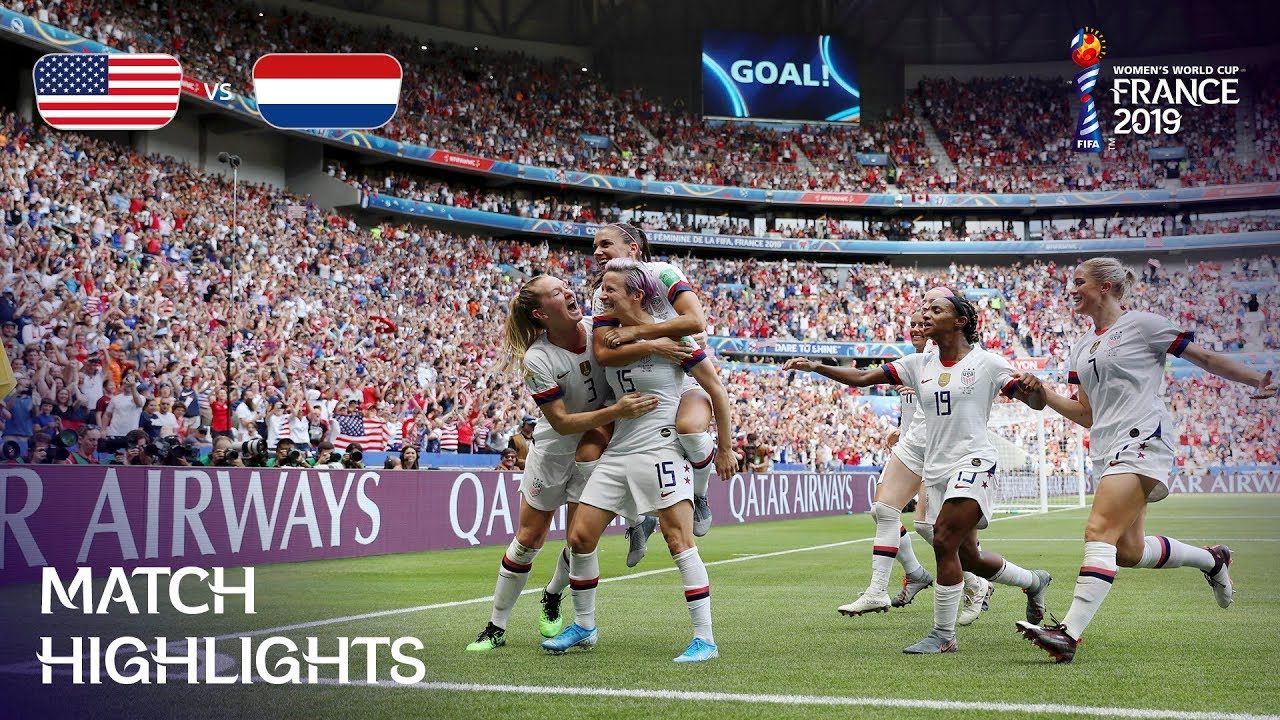 usa v netherlands fifa women s world cup france 2019 the final