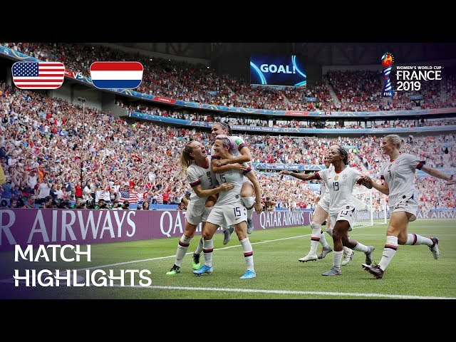 USA v Netherlands - FIFA Women's World Cup France 2019™ - THE FINAL