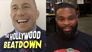 GSP and Tyron Woodley Talk About Their Potential Super Fight | The Hollywood Beatdown