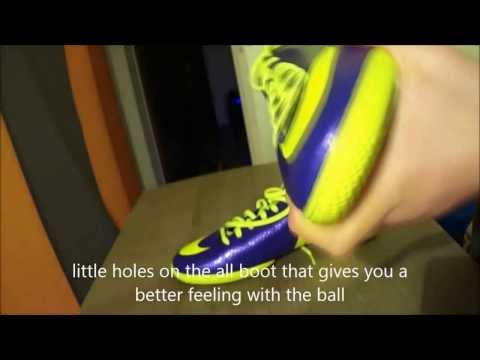 Nike Mercurial Viola E Gialle