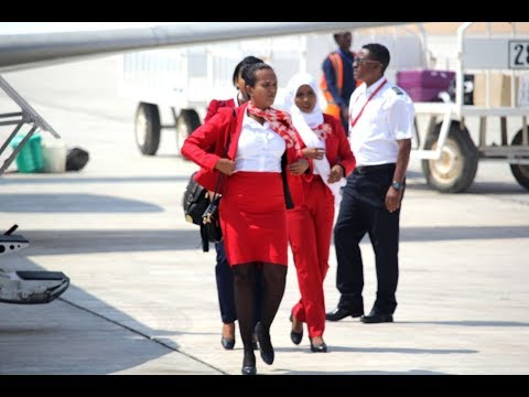 Diyaaradda Air Djibouti Ayaa Dulimaad Toos Ah ka Bilowday Puntland 29 03 2018 | RAAD Pro