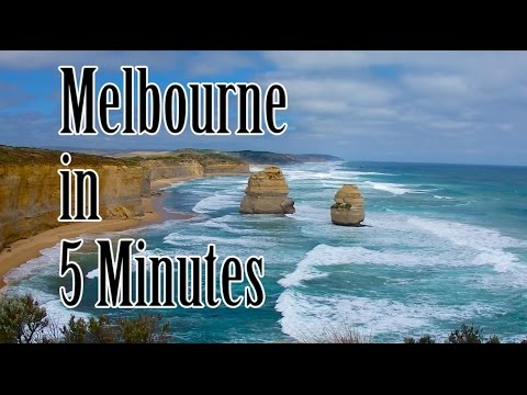 Melbourne in 5 minutes – The world's most liveable city!