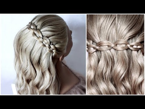 Chain Braided Headband hairstyle tutorial  ❤ BACK TO SCHOOL, everyday, wedding by Another Braid thumbnail