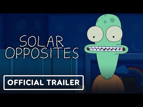 Solar Opposites – Official Trailer (2020) Justin Roiland, Thomas Middleditch