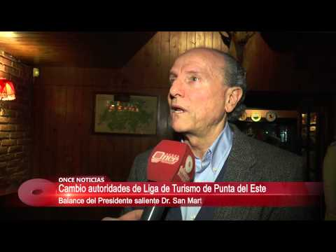 Dr. Javier San Martín - Cena Liga de Fomento de Punta del Este 06/07/2015