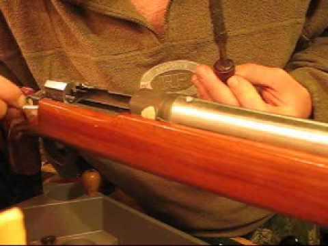 Bedding a Rifle Stock Part 2- Gunsmithing