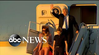 President Trump goes to Florida as accusations pile up