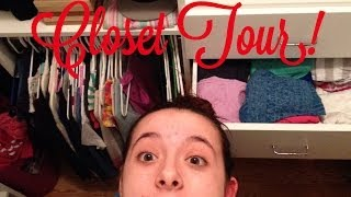 My Closet Tour Thumbnail