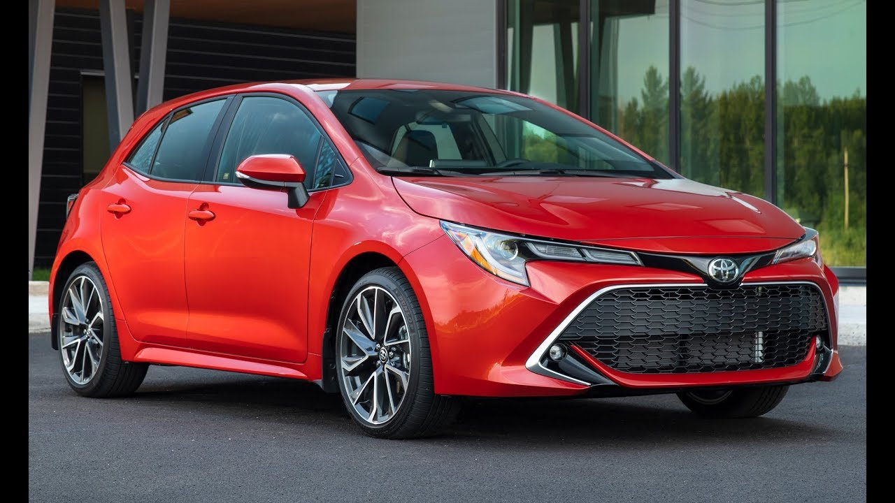 2019 Toyota Corolla Hatchback Xse Interior Exterior And Drive
