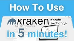 How To Use Kraken - Bitcoin Trading Exchange