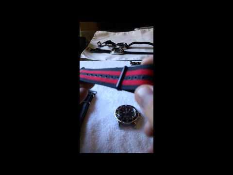 how to shorten a nato watch strap