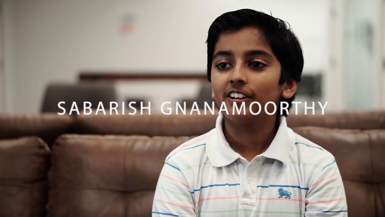 Sabarish Gnanamoorthy  | Youngest AR Developer Microsoft Corporation
