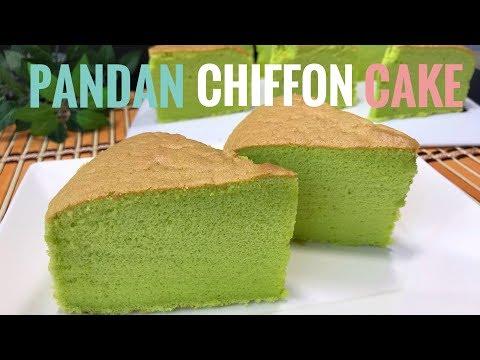 pandan-chiffon-cake-with-coconut-milk-recipe-|-cooking-asmr