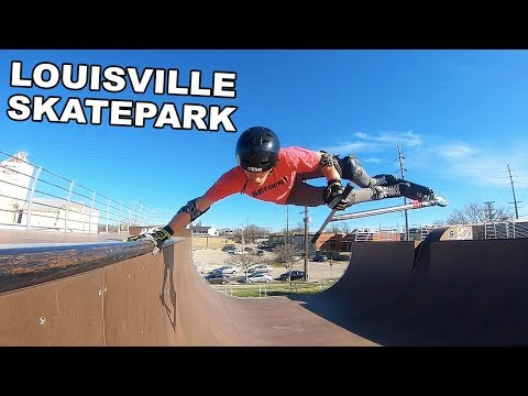 Worlds BIGGEST Skatepark? Louisville SkatePark