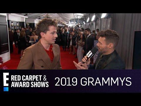 Charlie Puth Talks Surprising 2019 Grammys Nomination  E Red Carpet & Award Shows