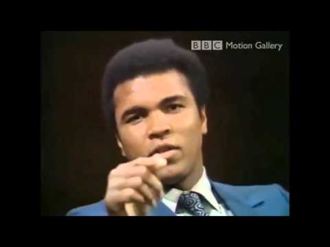 Muhammad Ali Vehemently Disapproves Of Race Mixing