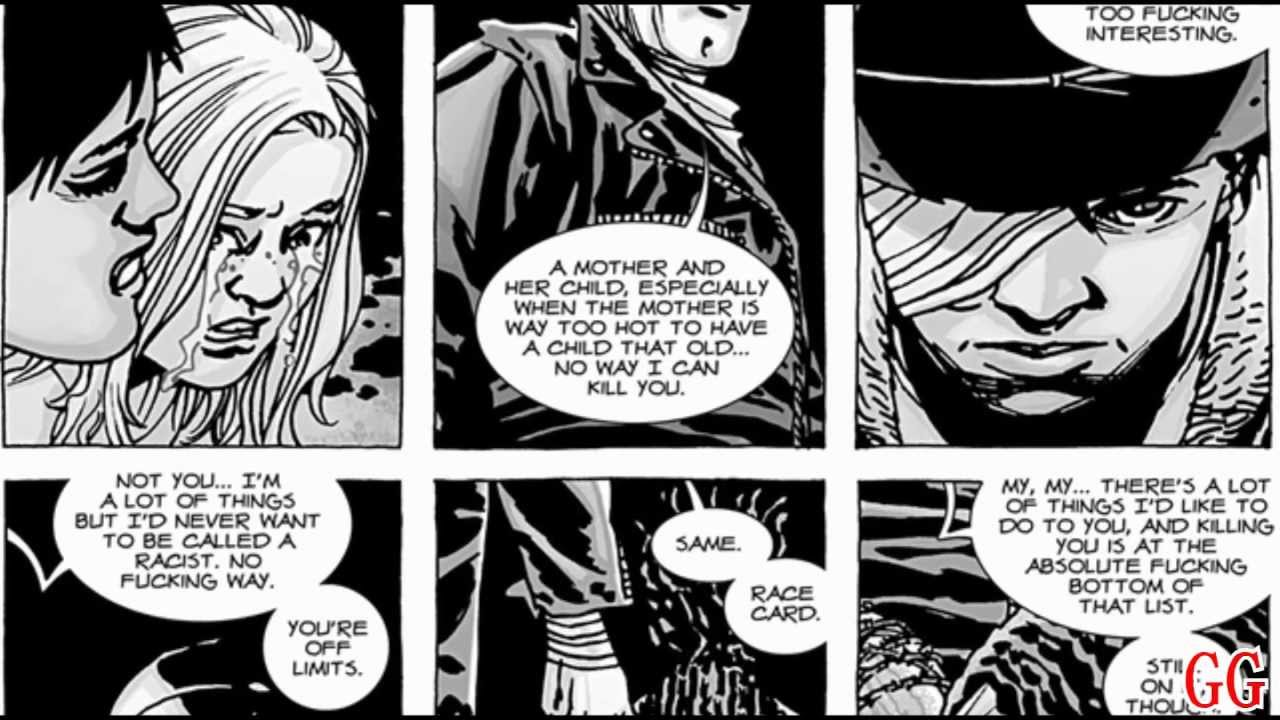 Spoilers The Walking Dead Glenn S Death From The Comics Hd