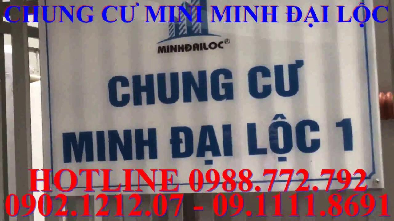 Chung cư mini Minh Đại Lộc giá rẻ nhất Hà Nội có Sổ Hồng