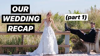 Our Wedding: The Morning Of & Our First Look | Lucie and Michael