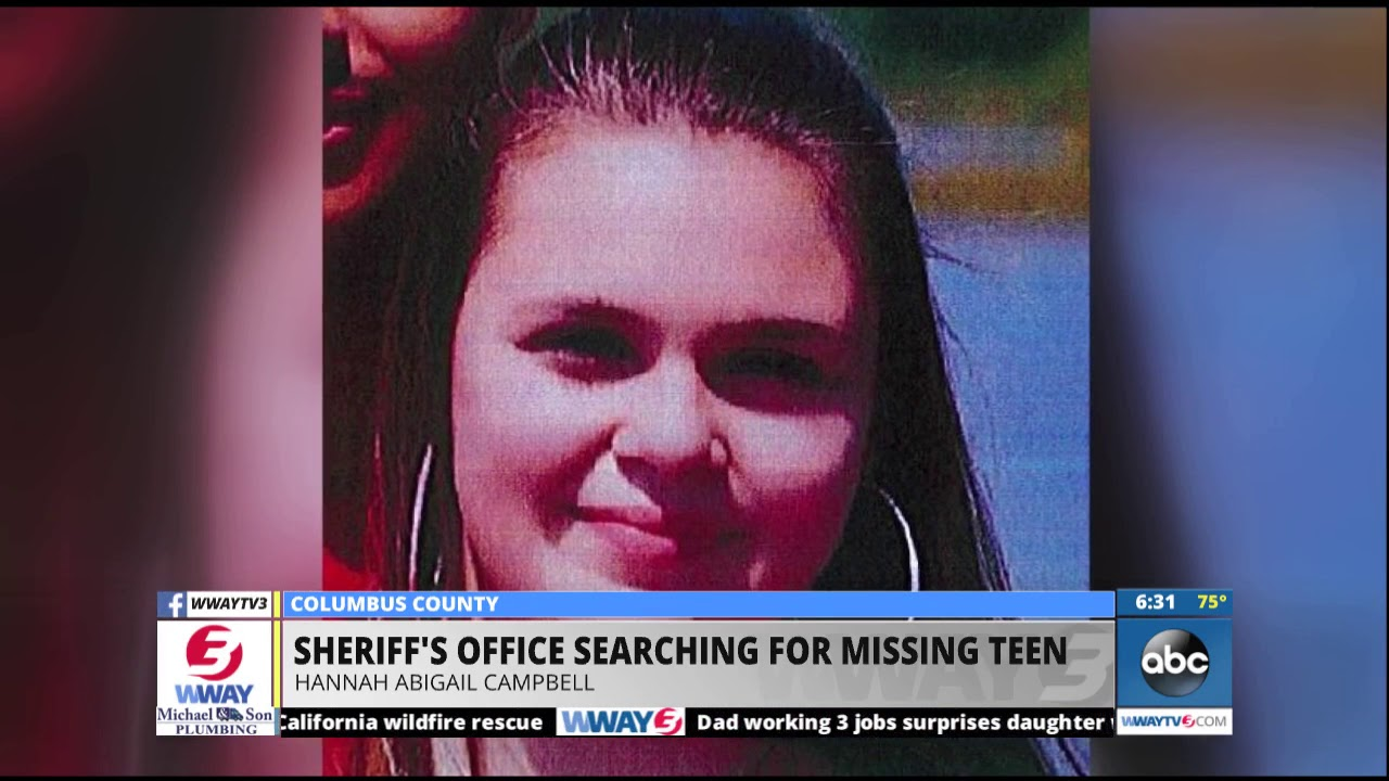 Search continues for missing Columbus County teen