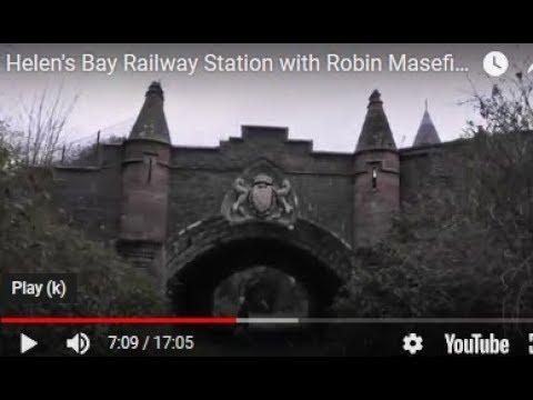 Helen's Bay Railway Station With Robin Masefield