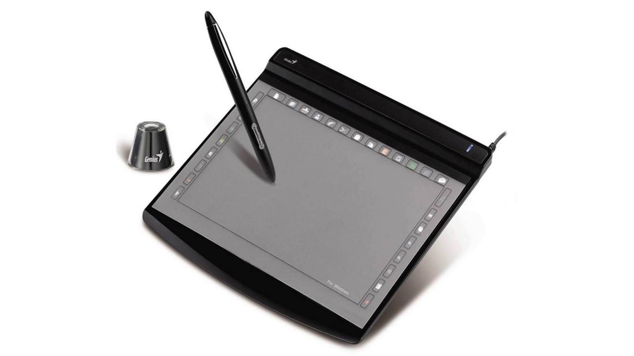 Genius G-Note 7100 Graphics Tablet Drivers for Windows Download
