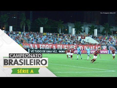 Melhores Momentos - Gols de Atlético-GO 3 x 1 Avaí - Campeonato Brasileiro (14/06/2017)