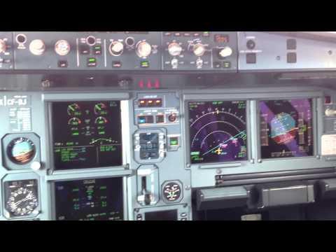 Airbus A320 land in Krasnodar/URKK