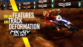 MX vs ATV All Out - Track Deformation And Multiplayer Features!